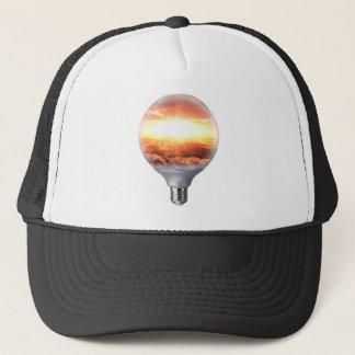 Diorama Sunrise Light Bulb Trucker Hat