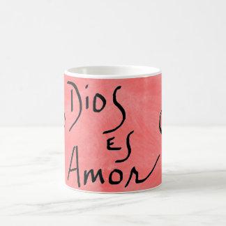 Dios Es Amor Spanish Mug