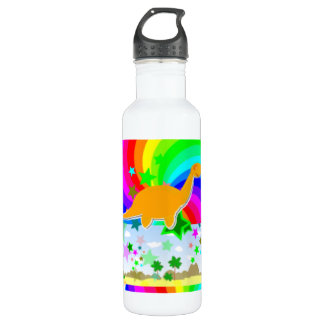 Diplodocus Pixel Dinosaur 710 Ml Water Bottle
