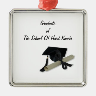 Diploma and Graduation Cap ( Mortar Board ) Christmas Tree Ornament