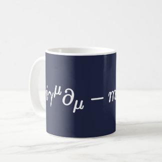 Dirac Equation Science Mathematical Equations Mug