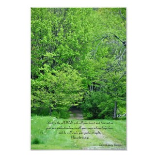 Direct Your Paths Photo Print