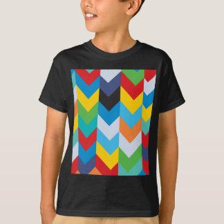 Direction Colorful Design T-Shirt