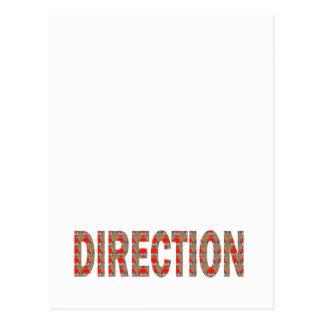 DIRECTION : Guide Coach Mentor Master Teacher GIFT Postcard