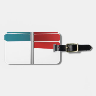Direction signs luggage tag