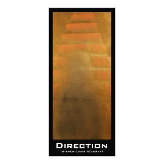 """Direction"" Value Bookmarks Rack Card"