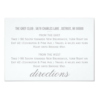 Directions Card | Chevron