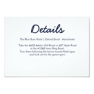 Directions Card | Galaxy Wedding