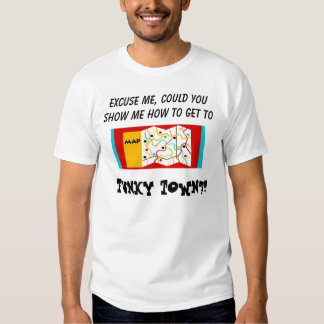 Directions to Funky town T-shirt
