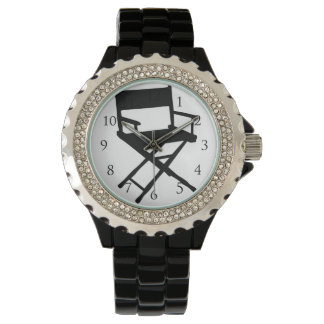 Director Chair Watch_With Numbers Wristwatch
