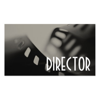 Director Clapperboard Film Movies Producer Act Pack Of Standard Business Cards