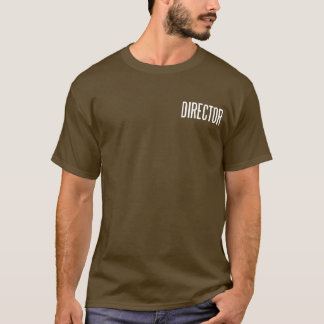 Director classic basic T.Shirt (brown) T-Shirt