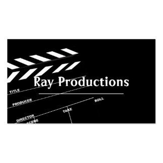 Director Film Movies Producer Production Business Double-Sided Standard Business Cards (Pack Of 100)