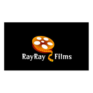 Director Film Movies Producer Production Business Pack Of Standard Business Cards