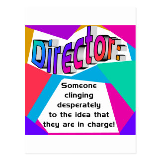 Director In charge? Post Cards