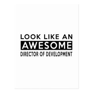 DIRECTOR OF DEVELOPMENT DESIGNS POSTCARD