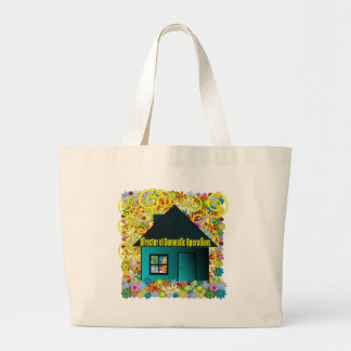 Director of Domestic Operations Large Tote Bag