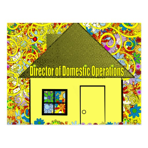 Director of Domestic Operations - Postcard