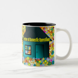 Director of Domestic Operations Two-Tone Mug