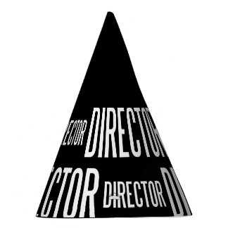 Director party hat (black edition)