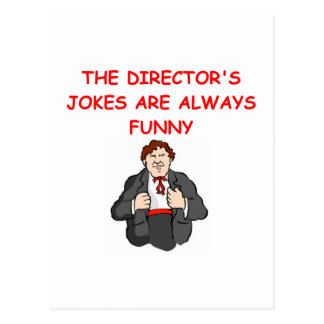 director post card