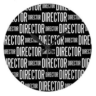 Director round large clock