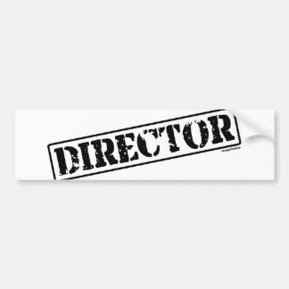 Director Stamp Bumper Sticker