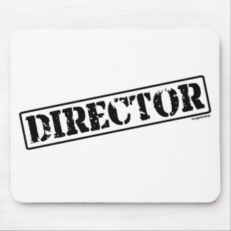 Director Stamp Mouse Pad