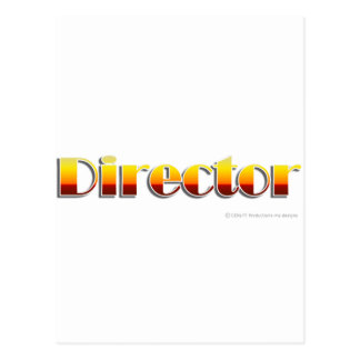 Director (Text Only) Postcard