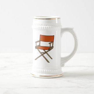 Director's Chair Beer Stein
