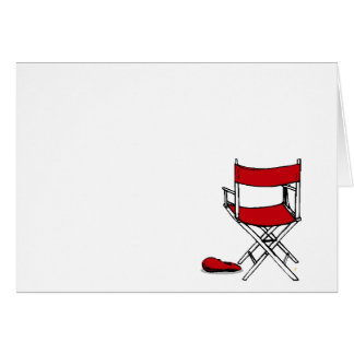 Director's Chair & Hat Card