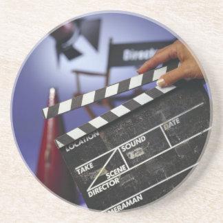 Director's Slate Beverage Coaster