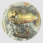 Dirigible Air Tour Stickers
