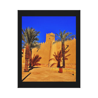 Diriyah Architecture Canvas Print