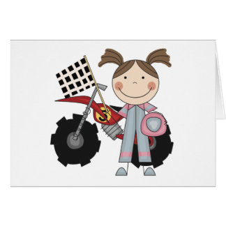 Dirt Bike - Girl T-shirts and Gifts Card