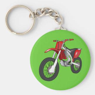Dirt bike key ring