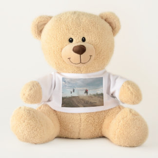 Dirt Bike Personalised Teddy Bear
