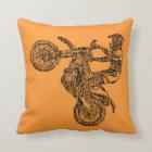 Dirt bike ride cushion