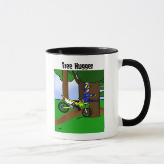 Dirt Bike Tree Hugger Mug