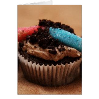 Dirt Cupcake Card