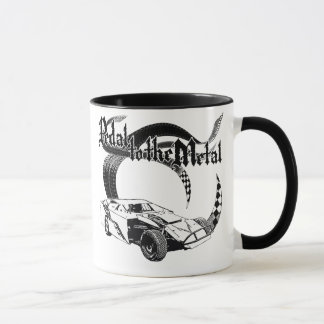 Dirt Modified Race Car Coffee Mug