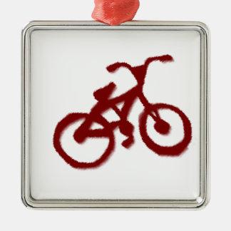 Dirt Mud Bike BMX Sport Team Boy Dad Party Destiny Metal Ornament