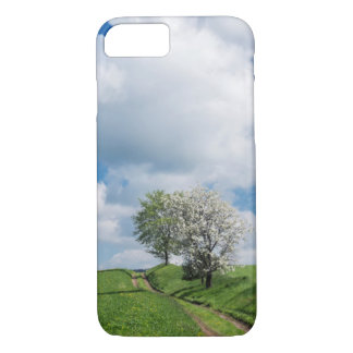 Dirt Road and Apple Trees iPhone 7 Case