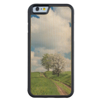 Dirt Road and Apple Trees Maple iPhone 6 Bumper