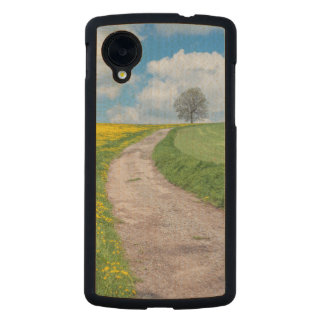 Dirt Road and Tree Carved® Maple Nexus 5 Case