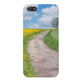 Dirt Road and Tree Cover For iPhone 5/5S