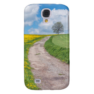 Dirt Road and Tree Galaxy S4 Covers