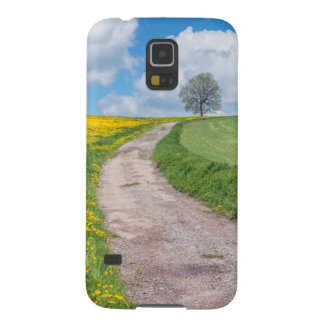 Dirt Road and Tree Galaxy S5 Case