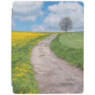 Dirt Road and Tree iPad Cover