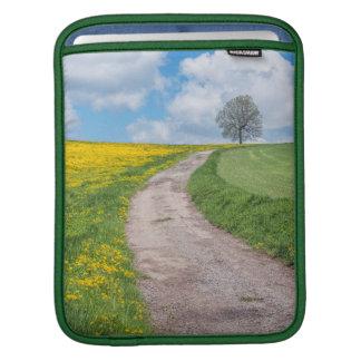 Dirt Road and Tree iPad Sleeves